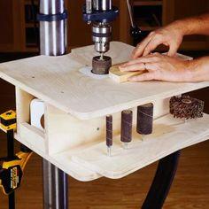 Building this sander is just plumb easy.