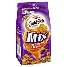 Pepperidge Farm Goldfish Mix Xtra Cheddar Pretzel - 6oz
