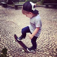 Little skater! <3
