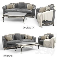 Sofa and Chair Darwin