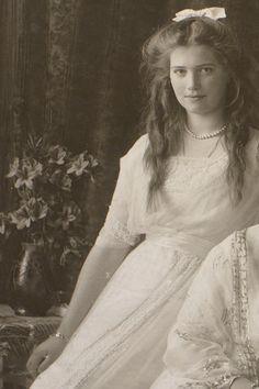 Grand Duchess Maria Nikolaevna, 1913.