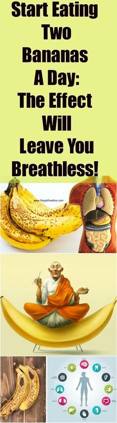#Start #Eating #Banana #Day #Effect #Breathless #Benefits #Health #Nutrition