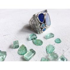 Opal ring for a friend's Opal Rings, Gemstone Rings, Gemstones, Jewellery, Instagram Posts, Silver, Jewels, Gems, Schmuck