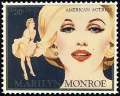 Marilyn Stamp by Richard Laeton