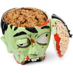zombie brains are cookies? guess we should stop worrying about them eating our brains and start trying to eat theirs.