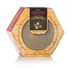 Anointment - New Brunswick, Canada--- This limited edition soap is available only leading up to the Christmas holidays. Created with mineral-rich green clay and a carefully selected blend of pure essential oils, it evokes memories of sitting next to a decorated tree with a mug of hot spiced cider, enjoying a quiet moment of calm before the excitement of Christmas morning. Anointment soaps contain 50% olive oil, making them mild and gentle. The soap also contains coconut and sustainable palm…