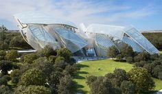 Frank Gehry, Louis Vuitton ile Paris'te