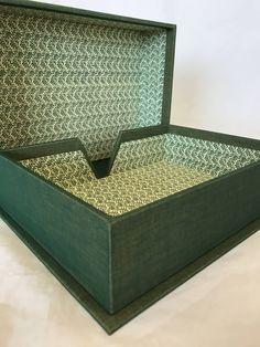 #etsy shop: Handmade Print box / Memory box / keepsake box/ Stationary box http://etsy.me/2n5W820 #housewares #homedecor #green #office #printbox #keepsakebox #memory #handmade #bespoke