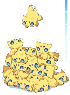 Pokemon A pile of joltik, just what everyone needs to procrastinate in their free time
