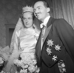 Archduke Otto von Habsburg of Austria was married to Princess Regina of Saxe-Meiningen from 1951 until her death in 2010