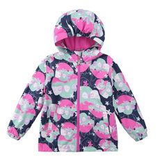 2017 Waterproof Windproof Girls Coat Hooded Children Jacket Outwear For Spring Autumn Winter 3-12 Years Windbreaker KF235 //Price: $33.60 //     #fashionkids