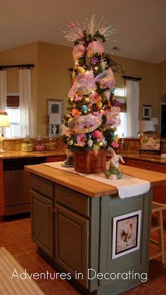 Love this idea of an Easter tree!  Cute!