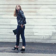 Fall Fashion / Style Blogger / Leather Jacket