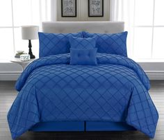 Royal Blue Bedding Sets - Home Furniture Design Black Comforter Sets, Black Bedding, Queen Comforter Sets, King Comforter, Black Bed Sheets, Bedding Master Bedroom, Bedroom Decor, Bedding Decor, Boho Bedding