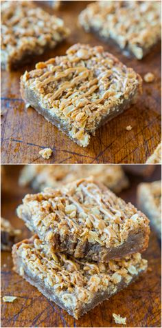 Cookie Butter Brown Sugar Streusel Bars - Need a recipe for your Cookie Butter or Biscoff ? Make these brown sugary, buttery, streusel-topped, easy, one-bowl bars! Rich & so good!