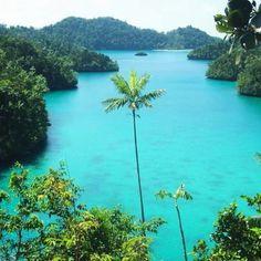 Wayag Island in Raja Ampat, West Papua, Indonesia