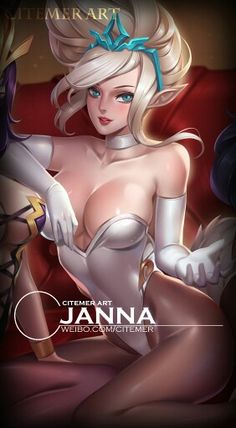 Bunny girls volume II by Citemer : Janna