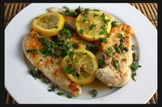 Veal Piccata (Veal in Lemon Sauce) | Caroline Manzo | Official Lifestyle & Entertainment Blog