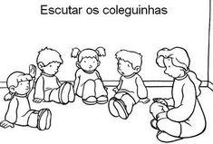 ESPAÇO EDUCAR: Plaquinhas de rotina, boas maneiras, regrinhas e combinados para a sala de aula!