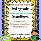 This Interactive Math Journal for 3rd Grade includes 15 interactive activities and 3 math games for Numbers and Operations in Fractions! Activities...