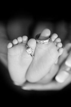 rings baby feet