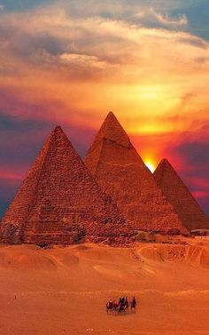 List of Pictures: Egyptian Sunset