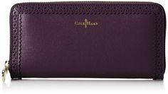 Cole Haan Gladstone Travel Zip Wallet - Listing price: $178.00 Now: $93.45