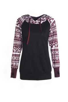 GET $50 NOW | Join RoseGal: Get YOUR $50 NOW!http://www.rosegal.com/sweatshirts-hoodies/chic-long-sleeve-geometrical-hooded-224277.html?seid=8152811rg224277