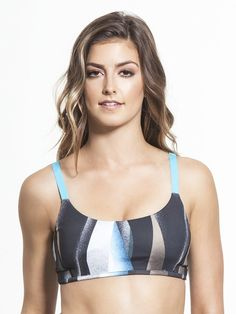 Pin for Later: Beachy Hues and Ocean Blues: Vacation-Inspired Activewear VIMMIA Printed Spirit Bra VIMMIA Printed Spirit Bra ($92)