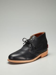 These would be great for foul-weather days...(The Gorilla Shoe Leather Chukka Boots)