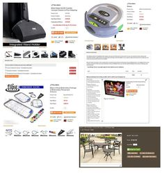e-Smart eCommerce Suite Features - Multiple Templates for Products