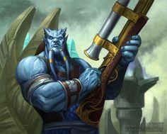 The Fantastic World of Warcraft Illustrations of Dan Scott Dota Warcraft, Warcraft Art, New Fantasy, Fantasy Races, World Of Warcraft 3, Different Races, Medieval, Guild Wars, Portraits
