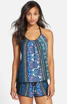 85aa1717db In Bloom by Jonquil Camisole  amp  Shorts available at  Nordstrom Paisley  Print
