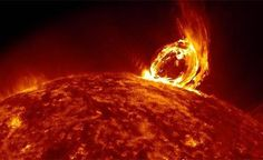 NASA: Shows the 'tongue of Satan' virulent, the most recent Solar eruption