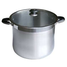 Alpha Heavy Gage 24 Qt Stainless Steel Stock Pot with Glass Lid By Savezoneusa /Alpha Alpha http://www.amazon.com/dp/B002GE5GYI/ref=cm_sw_r_pi_dp_Nk9Ltb0XNAH5CG03 heavy duty thick gage $54.