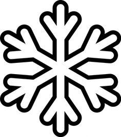 Pour faire les flocons de neige