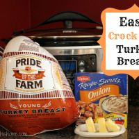 Easy Crock Pot Turkey Breast Thanksgiving is almost here! One thing I'm thankful for is this crock pot turkey breast recipe that my friend Kristin shared with me a couple of years ago. This is literally the easiest way to cook a turkey breast but it tast Crock Pot Food, Crockpot Dishes, Crock Pot Slow Cooker, Slow Cooker Recipes, Cooking Recipes, Crockpot Meals, Yummy Recipes, Yummy Food, Dinner Recipes