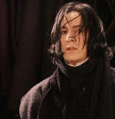 Alan Rickman as Severus Snape, The Harry Potter film series Alan Rickman Severus Snape, Professor Severus Snape, Snape Harry Potter, Harry Potter Severus Snape, Severus Rogue, Harry Potter Universal, Harry Potter Characters, Who Is A Hero, Alan Rickman Always