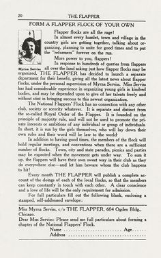 Darwination Scans: The Flapper, June 1922