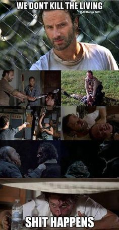 #TWD Maybe you end up having to? : |