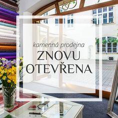 🎉Máme otevřeno! Tak se u nás zastavte a vyberte si látky naživo. Pokud to k nám ale máte daleko, můžete i nadále nakoupit přes e-shop a využít dopravu zdarma pro objednávky nad 1000 Kč. 🛍 🎉We're open again! Come and visit us in our Prague store. LINK IN BIO  #wearestillhereforyou #weareopen #openagain #comeandvisitus #silk #silkfashion #linenfabric #linen #linenfashion #wool #brocade #historicalreplica #historical #textile #keepcalmandcarryonsewing #sartorbohemia #sartor #mameotevreno… K Fashion, Instagram, Home Decor, Bohemia, Homemade Home Decor, Decoration Home, Interior Decorating, Korean Fashion Styles