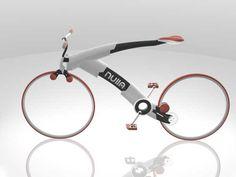 Innovation. Nieuwe aandrijving voor een fiets.