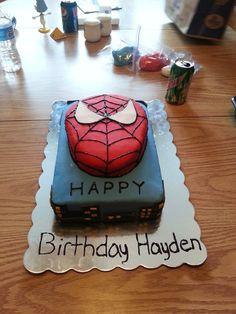 cake I made for my nephews birthday