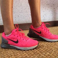 Pink lunarglides Nike