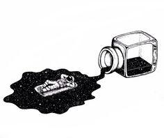 Galaxy drawings, pencil drawings, space drawings, art drawings, aesthetic d Galaxy Drawings, Space Drawings, Art Drawings Sketches, Cool Drawings, Tattoo Drawings, Pencil Drawings, Ink Illustrations, Illustration Art, Astronaut Illustration