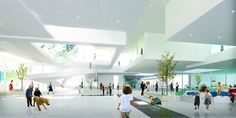 BIG bjarke ingels group lego house museum billund denmark construction designboom