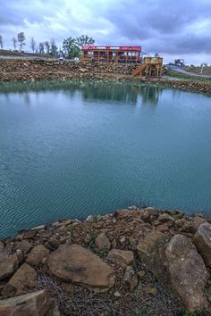 Choose a lot on our rock-lined stocked ponds and enjoy the view everyday!