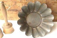 Vintage French Brioche Tin Mold