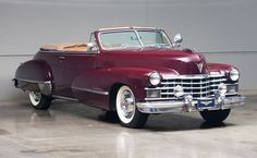 Auctions America is a leader in collector car auctions, classic auto auctions, antique car auctions and vintage car and motorcycle auctions in the United States. Convertible, Vintage Cars, Antique Cars, Cadillac Series 62, Car Makes, Us Cars, General Motors, Amazing Cars, Cars And Motorcycles