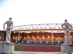 Stadio Olimpico (72.481) as roma - club brugge,lazio- as roma